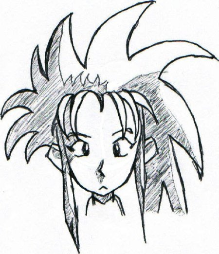Ryoko Ink Sketch