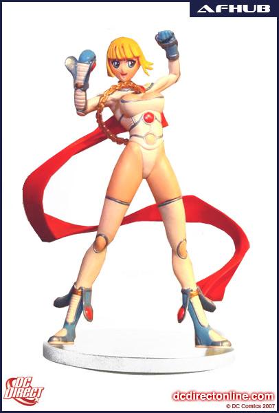 Bad Anime Power Girl 000