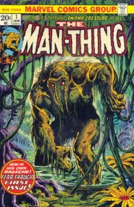 Cover to Man-Thing