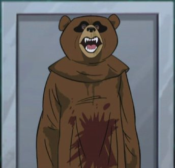 Knife Bear