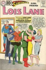 The real reason Superman never married Lois Lane back in the day?  She'd french Green Arrow.  True fact.