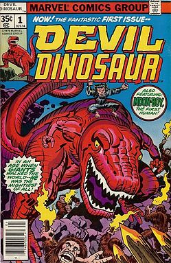 Seriously.  Who WOULDN'T want DEVIL DINOSAUR?  He's a Dinosaur.  That's red.