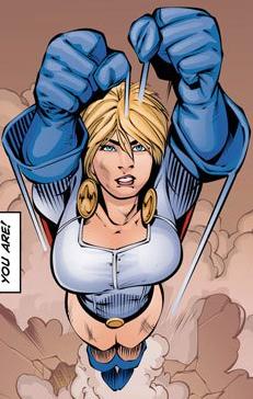 Power Girl Convergance