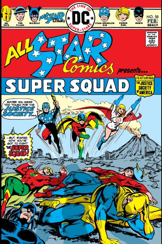 All Star Comics No 58 000 - Power Girls First Cover