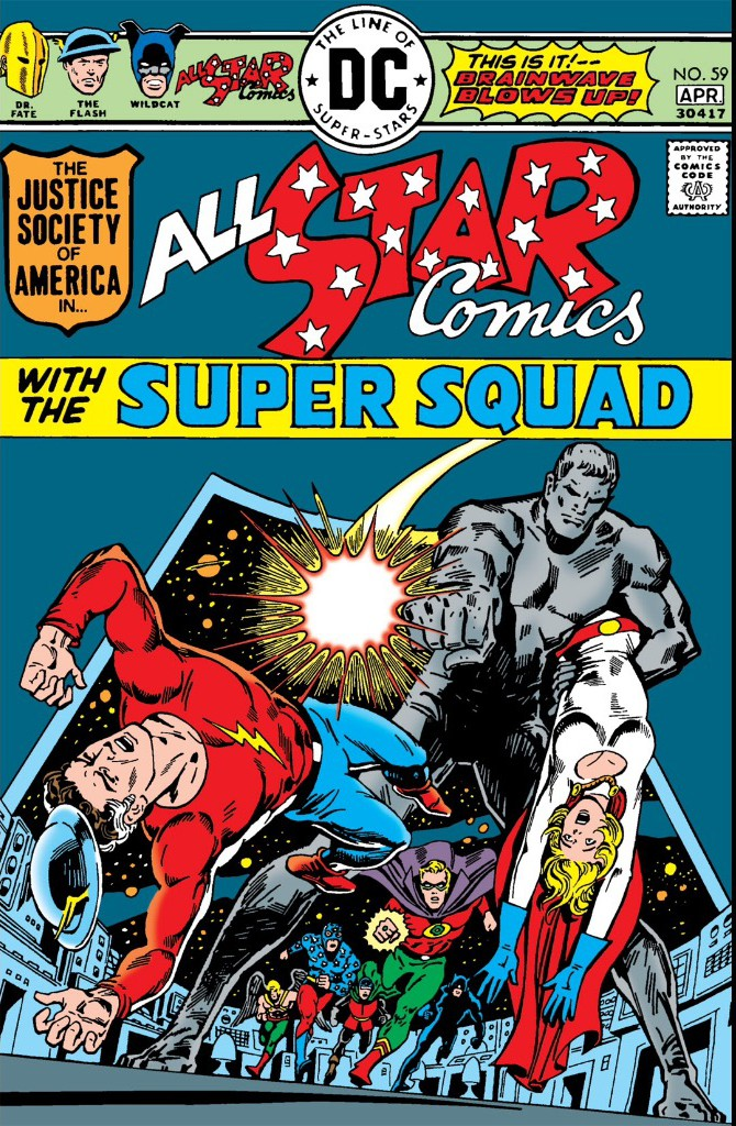 All Star Comics No 59 000 - Power Girls Second Cover