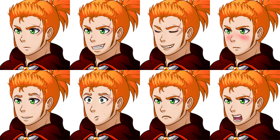 PC Expressions (Hero 1)