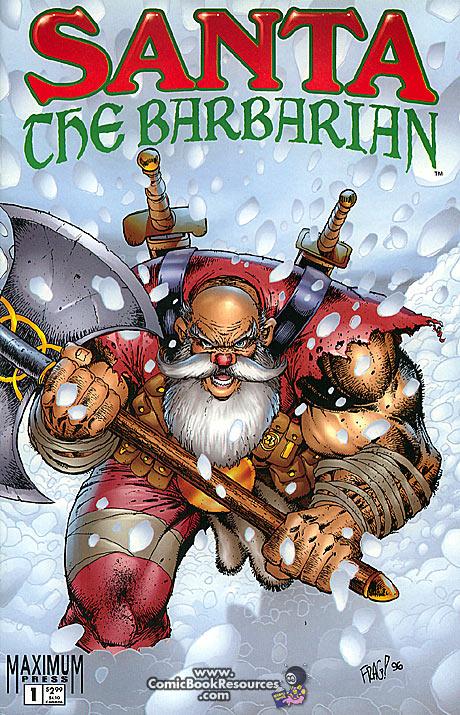 Santa the Barbarian 000